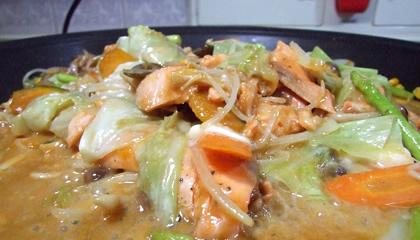 芳寿を使った美味しいちゃんちゃん焼きの作り方