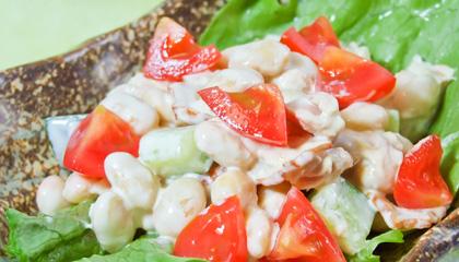 白みそを使った美味しい大豆サラダの作り方