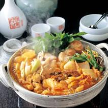 キムチ鍋の素を使ってキムチ鍋(みそ味)