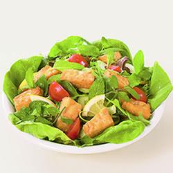 テンペのグリーンサラダ